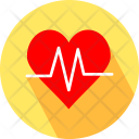Heartbeat Pulse Report Icon
