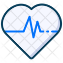 Medical Healthy Heart Beat Icon