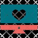 Heartbeat Analytics Diagram Icon