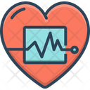 Life Calligraphy Cardio Icon