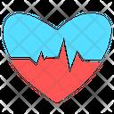 Ekg Rhythm Hospital Icon