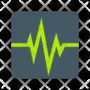 Heartbeat Heart Monitor Icon