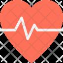 Heart Heartbeat Lifeline Icon