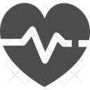 Heartbeat Heart Pulse Blood Pressure Icon