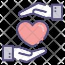 Heartbeat Love Heart Icon