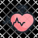 Heartbeat Health Heart Icon