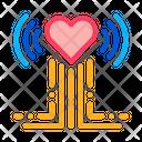 Heart Beat Examination Icon