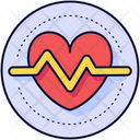 Heartbeat Health Healthy Icon