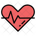 Heartbeat Heart Wellness Icon