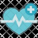 Pharmacy Heartbeat Pulse Icon