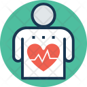 Heart Rate Healthy Icon