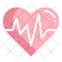 Heartbeat Healthcare And Medical Wellness Icon
