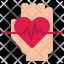Heartbeat Heart Care Icon