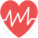 Heartbeat Pulse Pulsation Icon