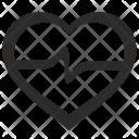 Cardio Sport Heartbeat Icon