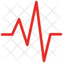 Heartbeat Lifeline Pulse Icon