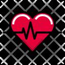Heartbeat Beat Heartcare Icon