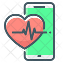 Heartbeat Application Medical Apps Mobile Medical Icon