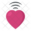 Heartbeat Concept Waves Icon
