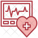 Healthcare And Medical Heart Rate Heartbeat Icon