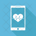 Heartbeat Measurement Icon