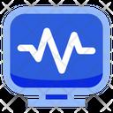 Heartbeat Monitor Icon