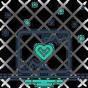 Monitoring Ios Computer Icon