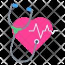Heartbeat Pulse Stethoscope Icon