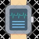 Heartbeat Watch Heart Rate Watch Sports Watch Icon