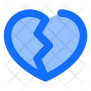 Heartbreak Heart Broken Icon