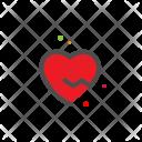 Heartbreak Heart Love Icon