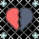 Heartbroken Disappointed Sad Icon
