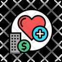Heartcare Hospital Healthcare Health Icon