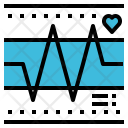 Hearth Rate Pulse Icon