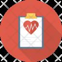 Hearthealth Heartmonitorreport Medicalreport Icon