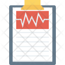 Hearthealth Heartmonitorreport Medical Icon