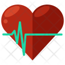 Heartrate Heart Heartbeat Icon
