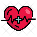 Heartrate Heart Cardiogram Icon