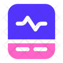 Heart Rate Monitor Health Medical Icon