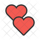 Hearts Two Icon