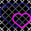 Gift Romance Heart Icon