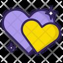 Heart Hearts Love Icon
