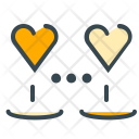 Hearts Connected Love Icon