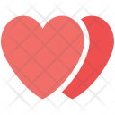 Hearts Two Lovers Icon