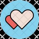 Hearts Valentine Romance Icon