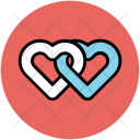 Hearts Two Love Icon