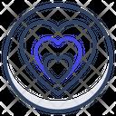 Love Hearts Passion Icon