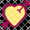 Hearts Arrow Marriage Icon