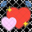 Love Heart Love And Romance Icon