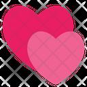 Hearts Romance Romantic Icon